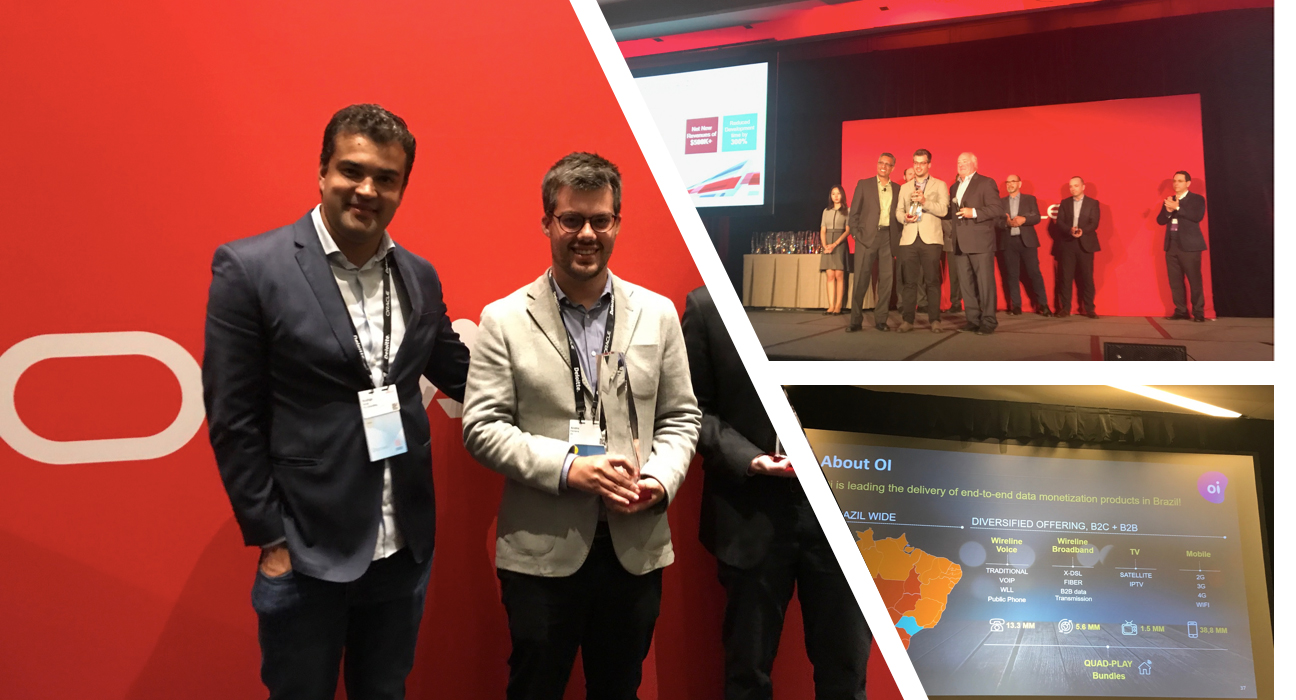 V8 Case of Analytics Cloud for Oi es premiado a nivel mundial en San Francisco.