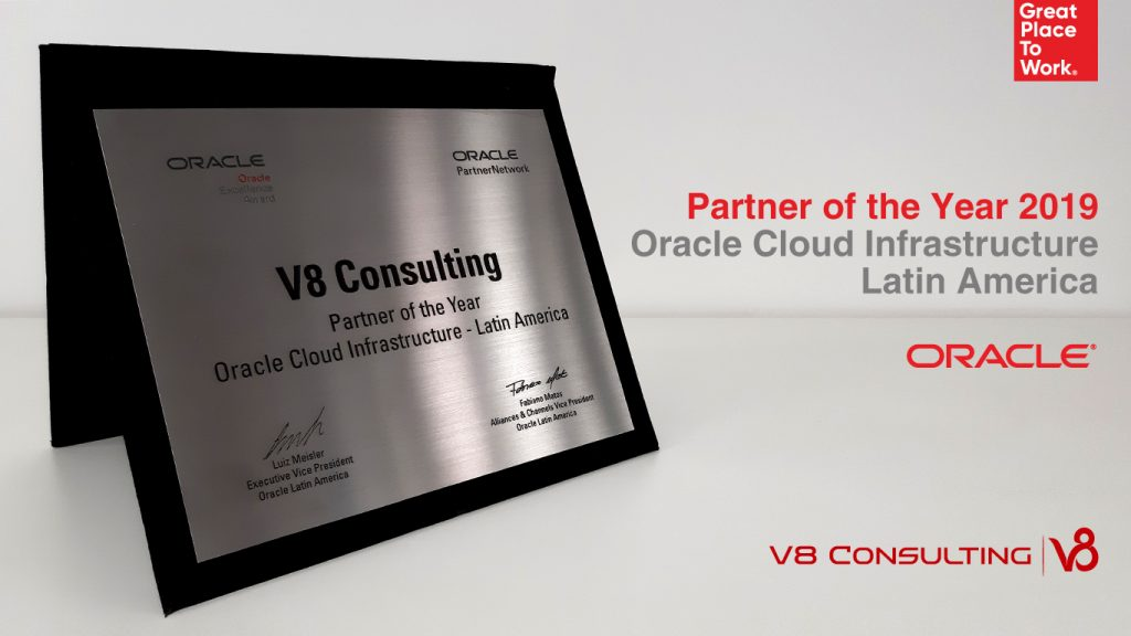 Partner of the Year 2019 Oracle Cloud Infrastructure - Oracle