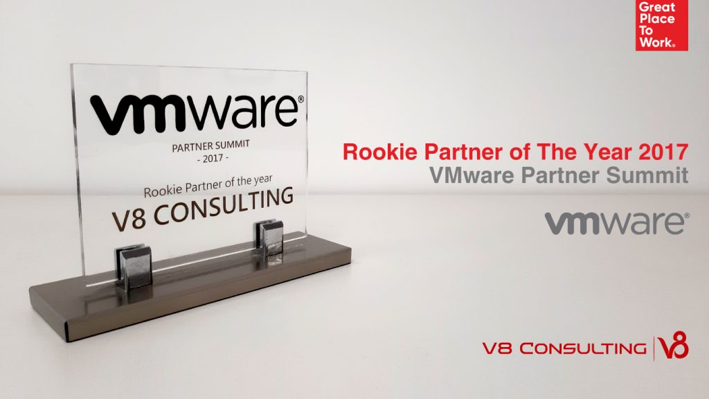 Rookie Partner of The Year 2017 - VMware